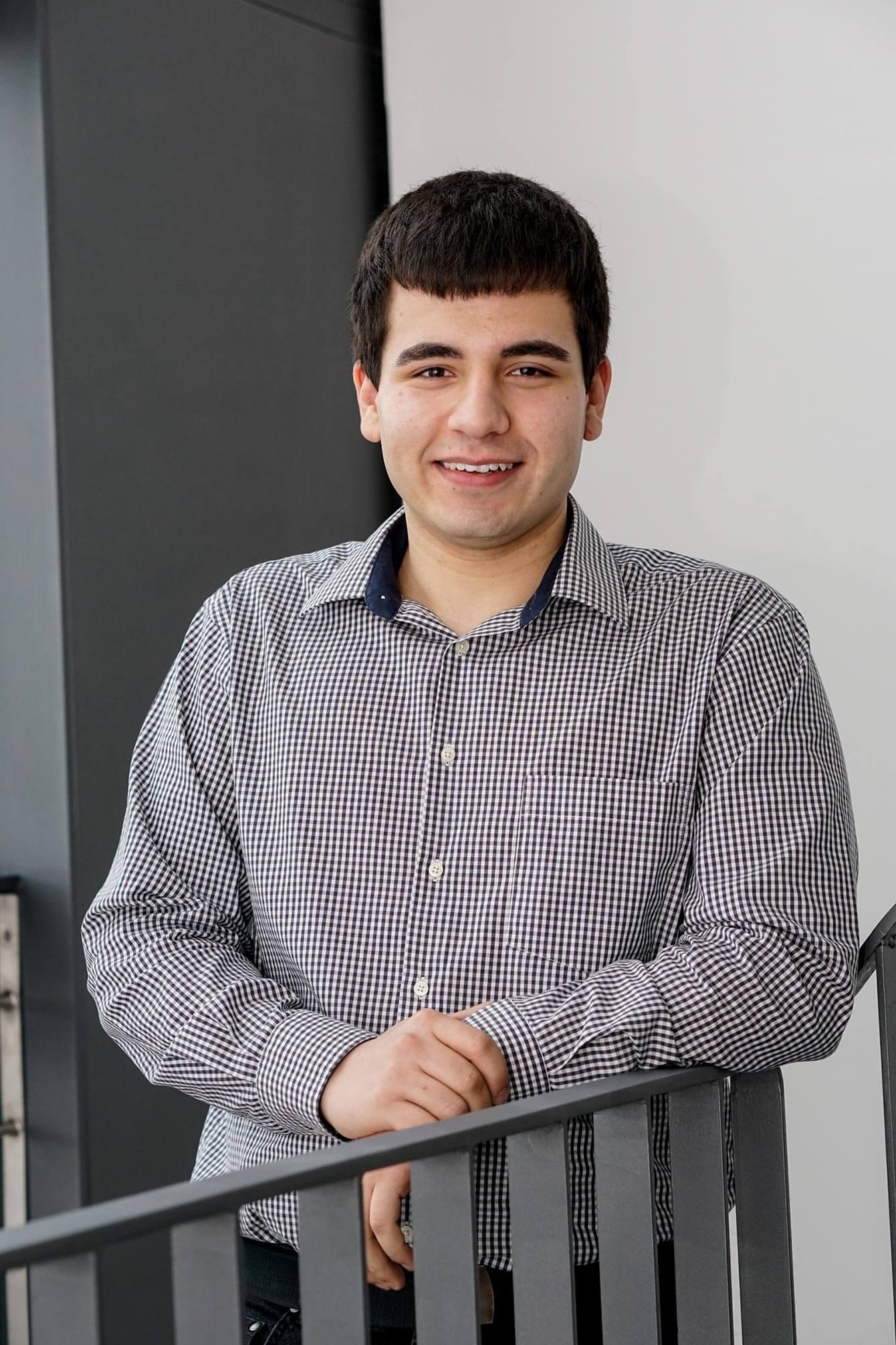 Sascha Gerbl, Kaufmann für Verkehrsservice im 1. Ausbildungsjahr