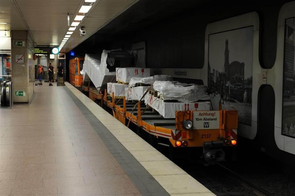 Fahrtreppenaustausch Hauptbahnhof 2011 (Foto: Frank Nagel)