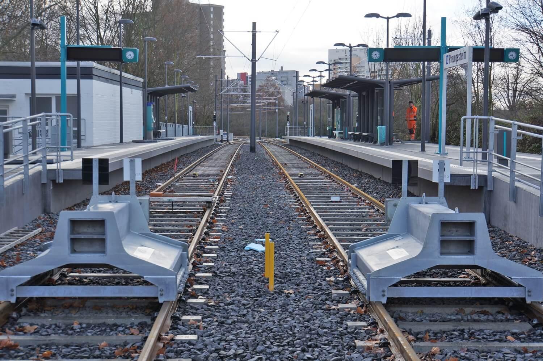 Modernisierte Station Preungesheim