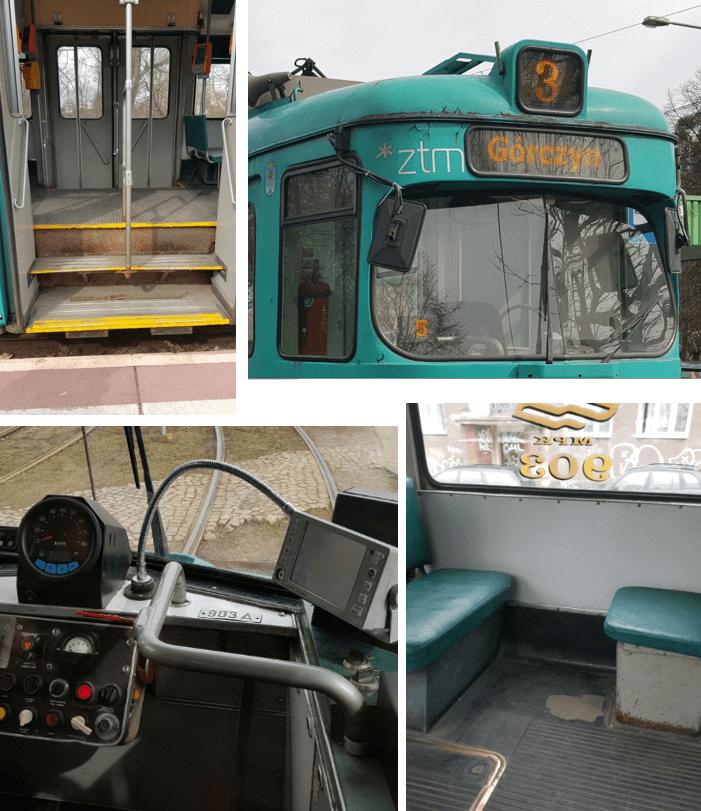"""Trotz des heruntergekommenen Zustands, den man an den Einstiegen, am Wagenkasten und am Fußboden erkennen konnte (die Fahrerkabine hat übrigens """"nur"""" einen neuen großen Tacho und ein neues IBIS Gerät erhalten), ..."""