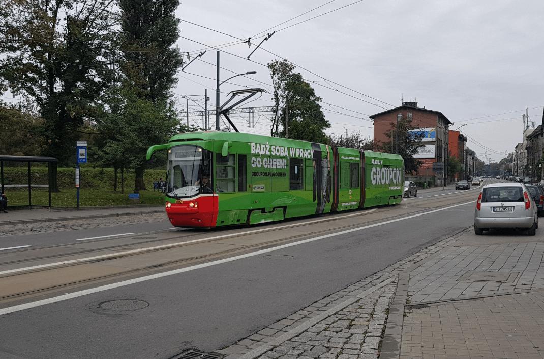"""Fahrzeug vom französischen Typ """"Citadis Alstom"""""""