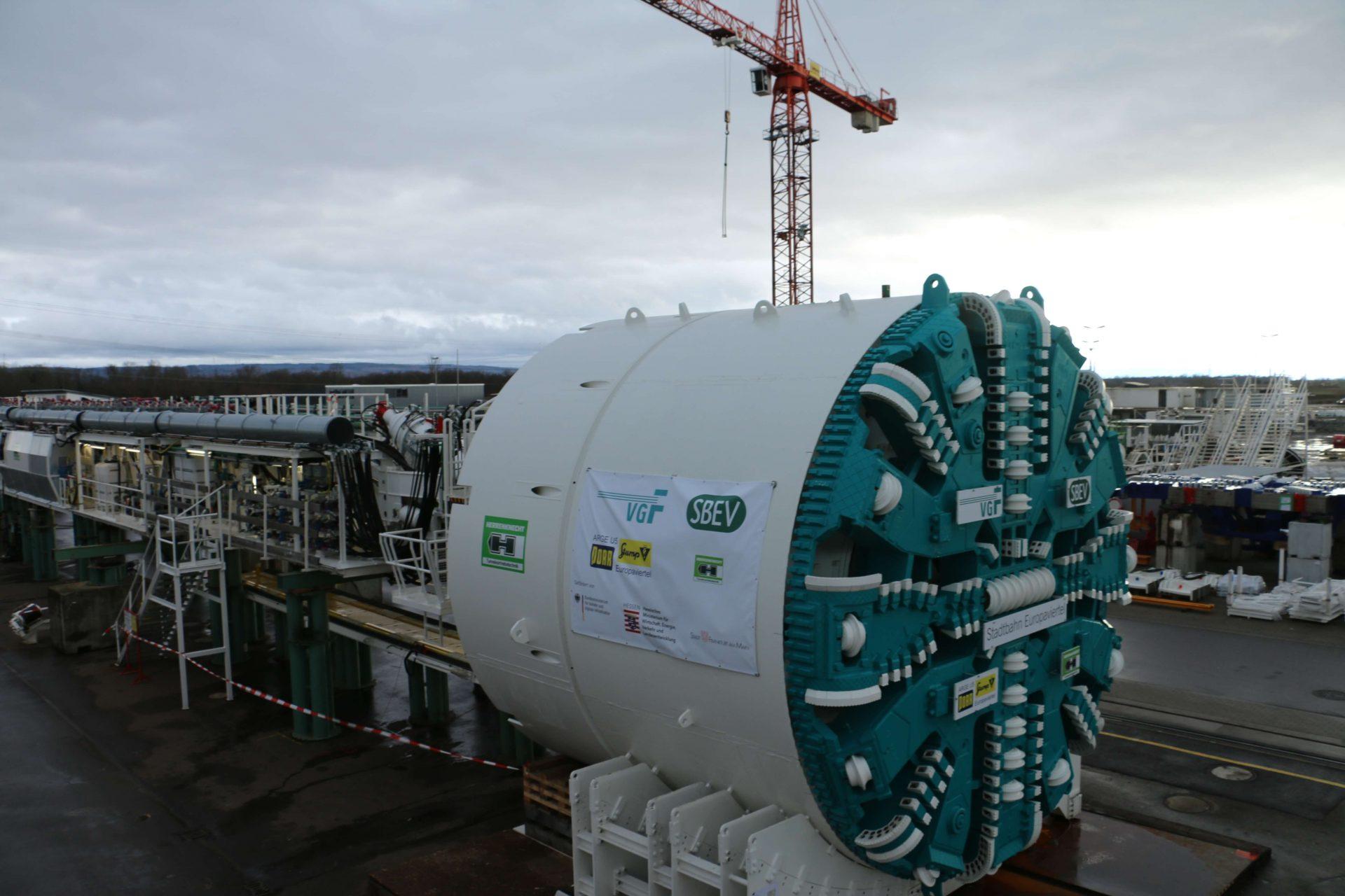 Tunnelvortriebsmaschine
