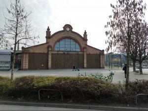 Das alte Depot an der Bockenheimer Warte