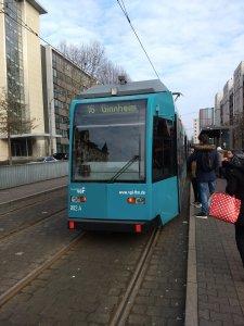 Tram 16 Richtung Ginnheim