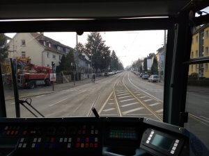 Tram Richtung Ginnheim