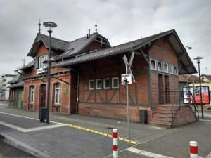 Schwanheim Bahnhof