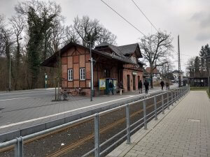 Die Station Neu-Isenburg Stadtgrenze