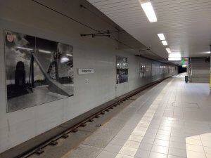 Ostbahnhof, die letzte U-Bahn-Station
