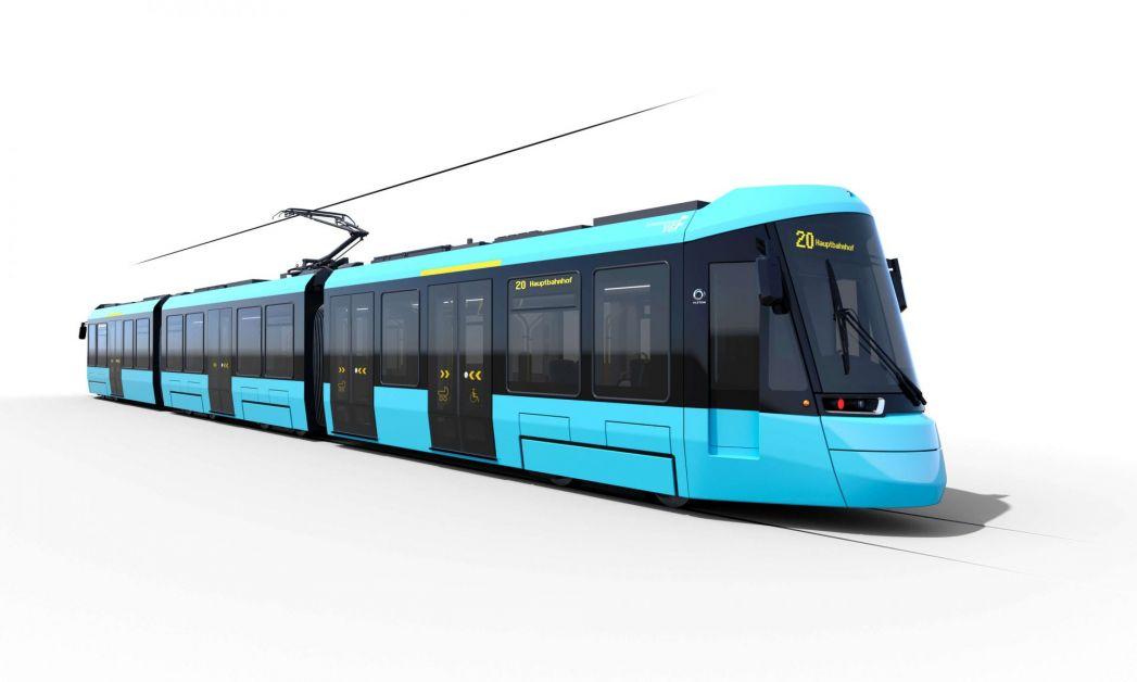 Straßenbahn der Zukunft: Citaldis von Alstom Seitenansicht