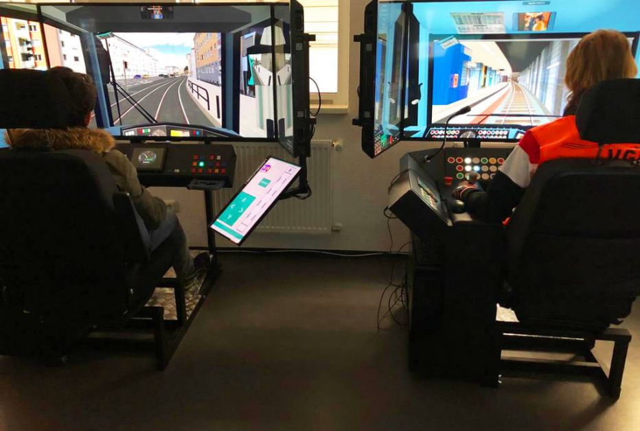 Training am Fahrsimulator