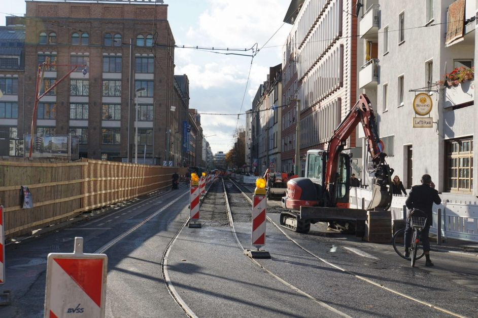 Wiederbelebung Vgf Nimmt Nebenstrecke Im Gallus Wieder In Betrieb