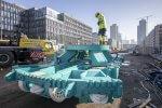 Schneidradzentrum der Tunnelvortriebsmaschine Baumaßnahmen Verlängerung U5 Europaviertel