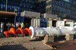 Bild der Förderschnecke Baumaßnahmen Verlängerung U5 Europaviertel